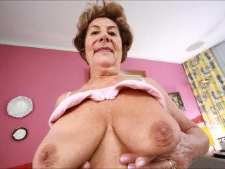 kwaliteit grote borsten film, grannies, zien matures