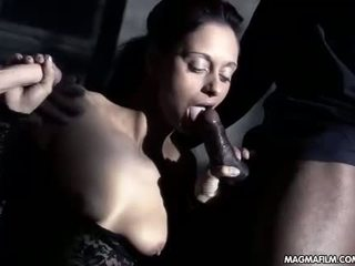 sucking, ideal babes, check threesome real