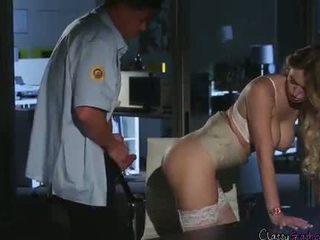 Security Guard Fucks Accountant Natalia Starr In The Office