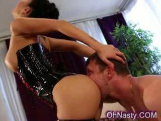 nominale grote borsten, vol pijpbeurt tube, kindje seks