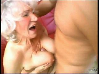 Grandma loves cock