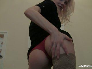 blondjes scène, tieners klem, online hd porn thumbnail