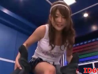 Japanese AV Model petite Asian babe