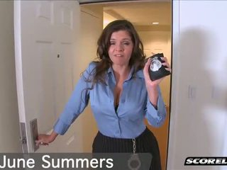 Busted By June Summers