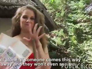 Kinky amateur brunette Eurobabe screwed for a few bucks