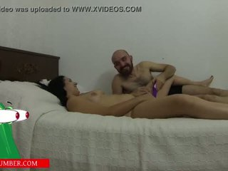 "sucks pussy and masturbates with a vibrator on the bed until he cums <span class=""duration"">- 27 min</span>"