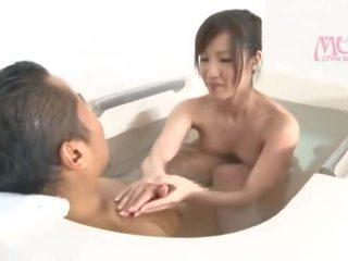brunette film, plezier orale seks video-, zien japanse neuken