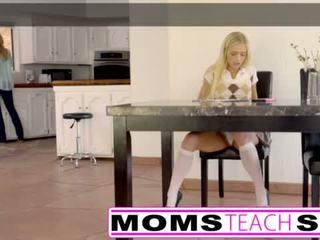 "Moms Teach Sex - Big tit mom catches daughter <span class=""duration"">- 11 min</span>"