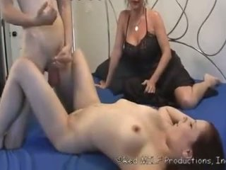 mother make her son to fuck his step-sister