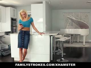 Familystrokes - Hot Teen Fucks Her Step-cousin in...
