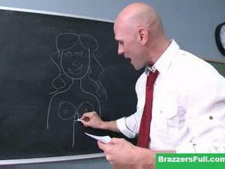 brunette regarder, voir oral, frais brazzers grand