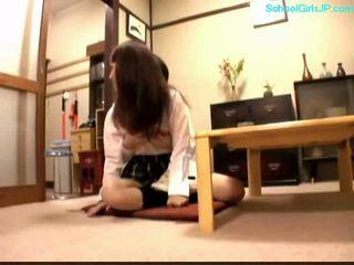 студент, млад, японски, момиче