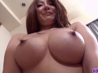 beste brunette neuken, plezier orale seks, heet japanse actie