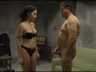 PI - Valentina Nappi fucking with an old man