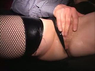 Squirting MILF messes herself Orders sub cougar to blow hubby Long HD edit
