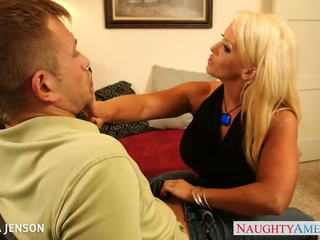 doggystyle, nice cougar all, shaved pussy