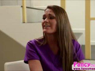 meest brunette nominale, ideaal likken kijken, een lesbisch plezier