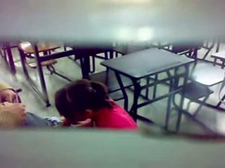Hidden Camera BJ At The Classroom