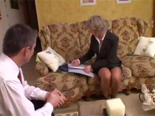 French Mature Christine Analfucked by a Customer: Porn f6