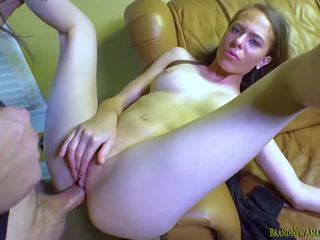 Cute Amateur gets Fucked Hard Wanting to be a Singer.