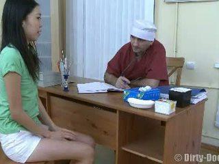 vagina, lääkäri, sairaala, aasialainen