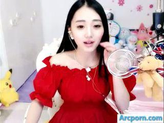 वेब कैमरा, लड़की, चीनी, एशियाई
