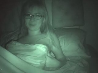Cute asian ex gf on night vision