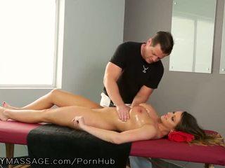 brunette, big boobs, tattoos