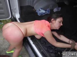 plezier brunette actie, hq slank porno, buitenshuis actie
