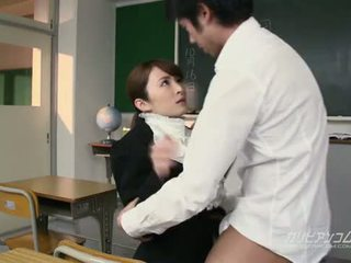 beauty teacher fucked hard by students