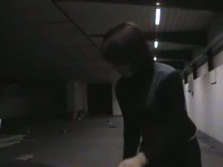 Roberto Malone - in parking garage