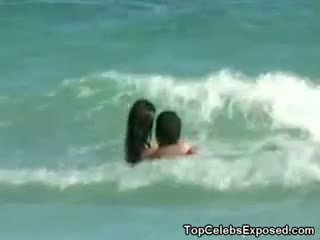 voyeur klem, strand kanaal, beroemdheid actie