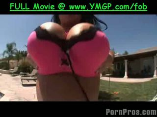 बड़ा फ्री, ताजा स्तन, ख़रबूज़े हॉट