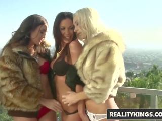 Reality Kings - Lesbian threesome - Kirsten Price & Sammie Rhodes & Melissa