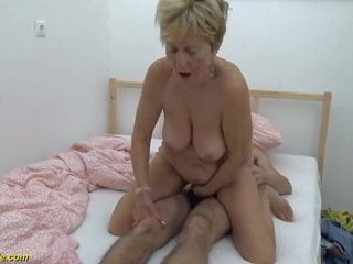 Hairy 90 Years Old Granny Banged by Her Toyboy: HD Porn d9