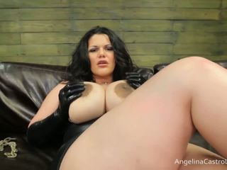 Grande titted angelina castro cocks dominazione!