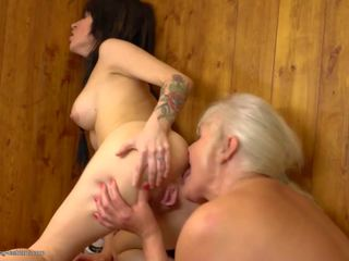 Taboo Family Stories with Old and Young Lesbos: HD Porn cd