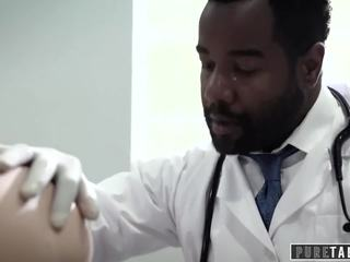 PURE TABOO Maddy O'Reilly Exploited into BBC Anal at Doctors Exam