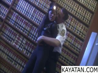Pinay лошо момиче na dali ng сигурност guard