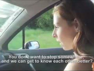 Sexy Antonia Gets Fucked Inside The Car
