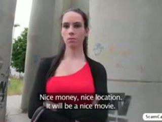 heet brunette, online realiteit porno, pijpbeurt video-