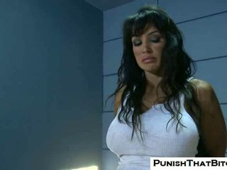 Lisa ann gets forced atos punishment