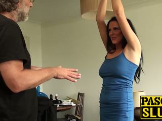 Sexy Slut Jess Scotland Getting Tied up and Fucked...