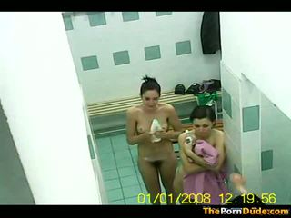 Swimming Pool Changing Room Voyeur