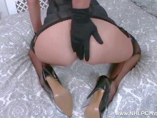 kaukasier, nenn vaginal masturbation, qualität solo-mädchen film