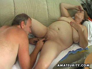 oud scène, heet oma scène, nominale vet porno