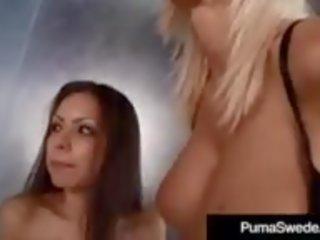 nominale zuig- video-, cum in de mond, grote tieten