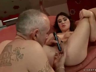 full brunette, sex toys tube, fun extreme