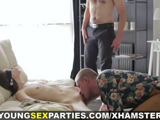 pijpen klem, heet groepsseks porno, tieners actie