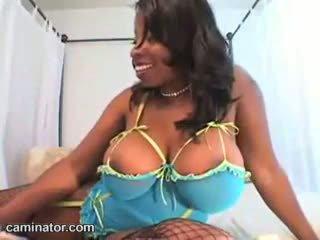 ideal große brüste heißesten, voll webcam, schwarz und ebony